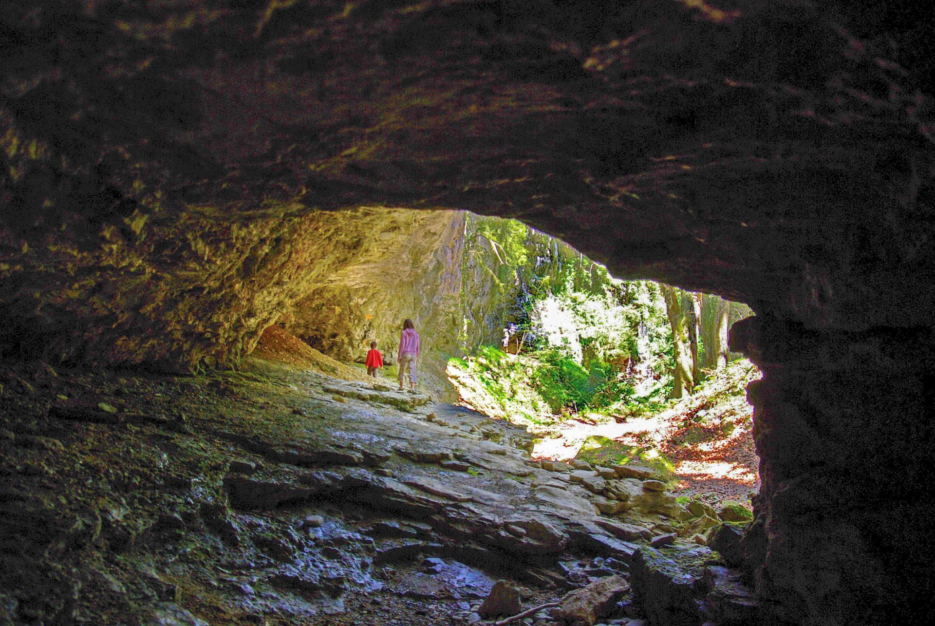 02 EC grotte du canyon des Gueulards, Omblèze