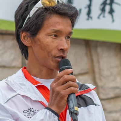 Dawa Sherpa, invité sur les drayes 2014