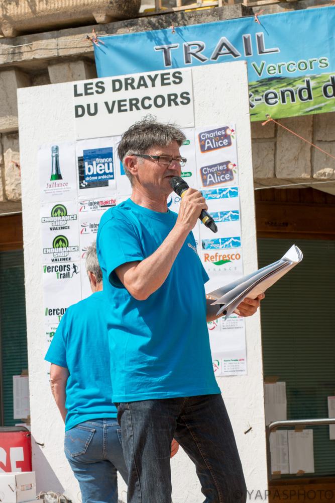 Alain Lecoq maître de cérémonie