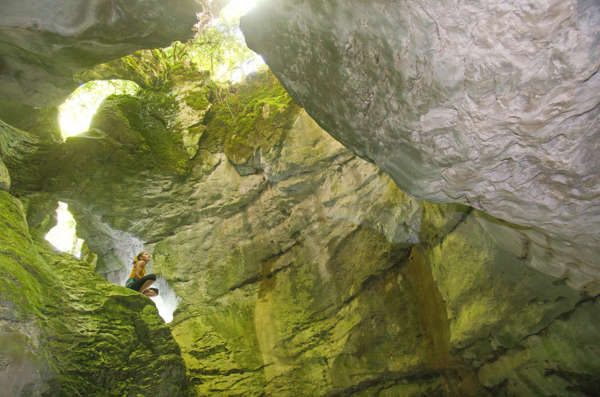 44 EC canyon du Pont des Oules (Saint Agnan en Vercors)