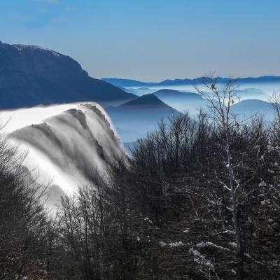 32 JLV Cascade de nuages au col du Rousset (Saint Agnan en Vercors)