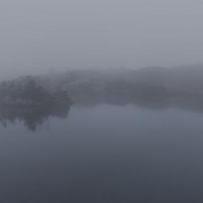 Brouillard au lac Fourchu