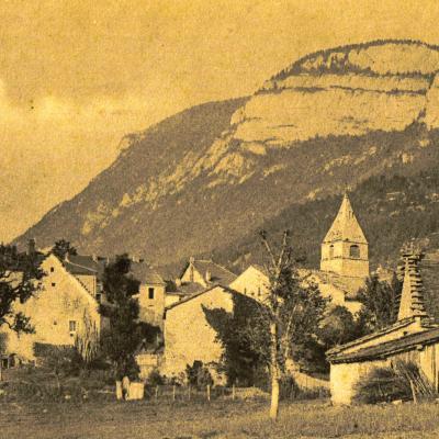 vue ancienne du village