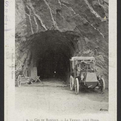 tunnel du Rousset coté Diois