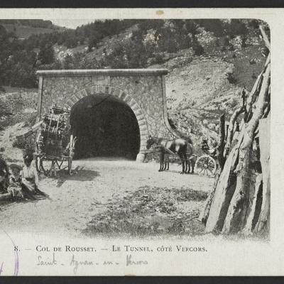 tunnel du Rousset coté Vercors