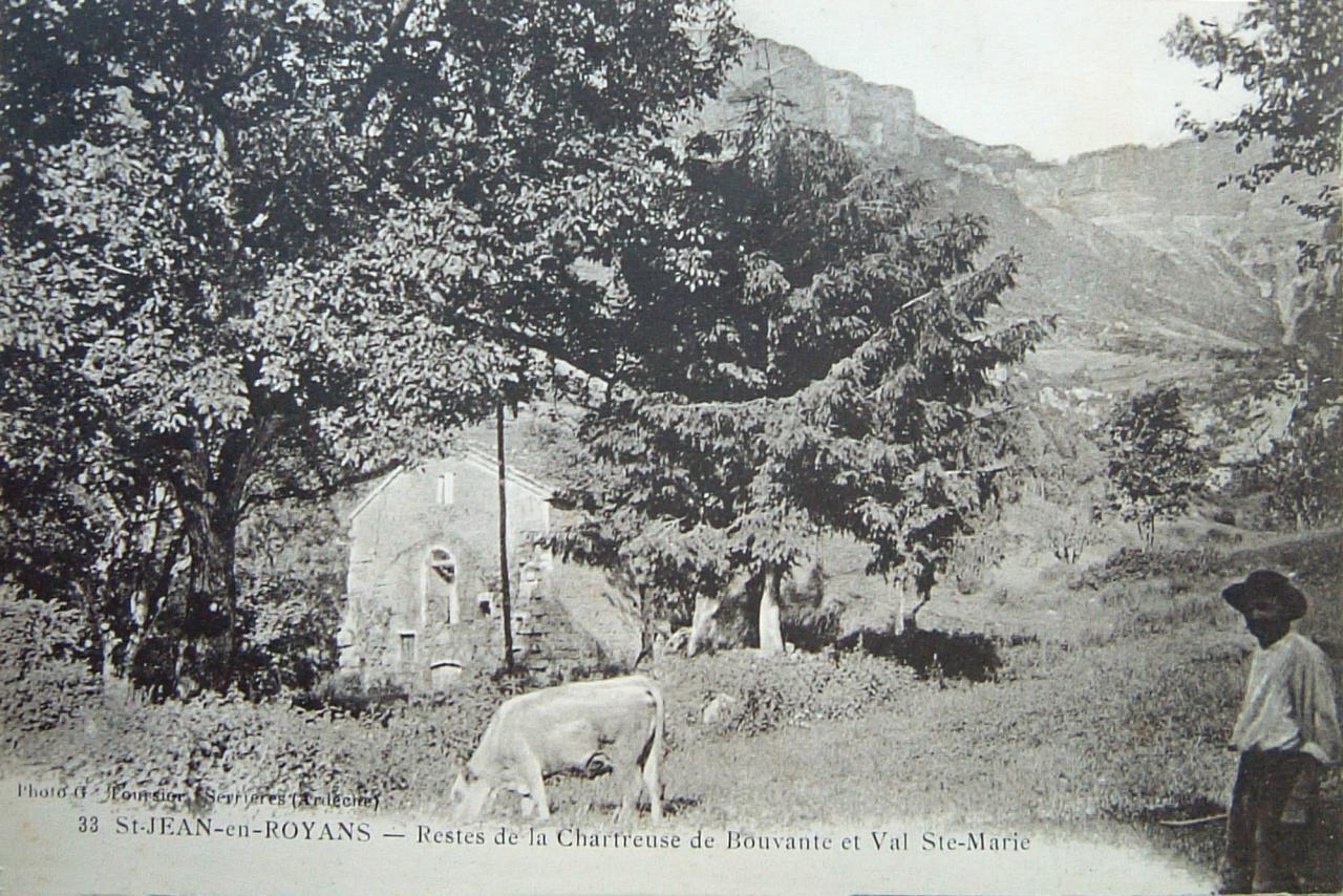 Bouvante Restes de la Chartreuse et Val Sainte Marie