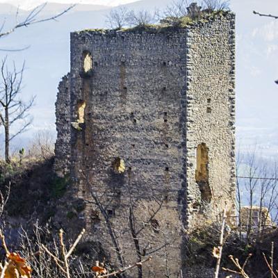 fenêtres du château