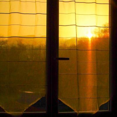 lever de soleil saharien