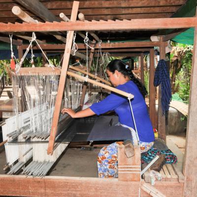 Île de la soie - Pnom-pen