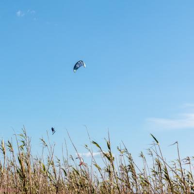 kite surf étang de barcares