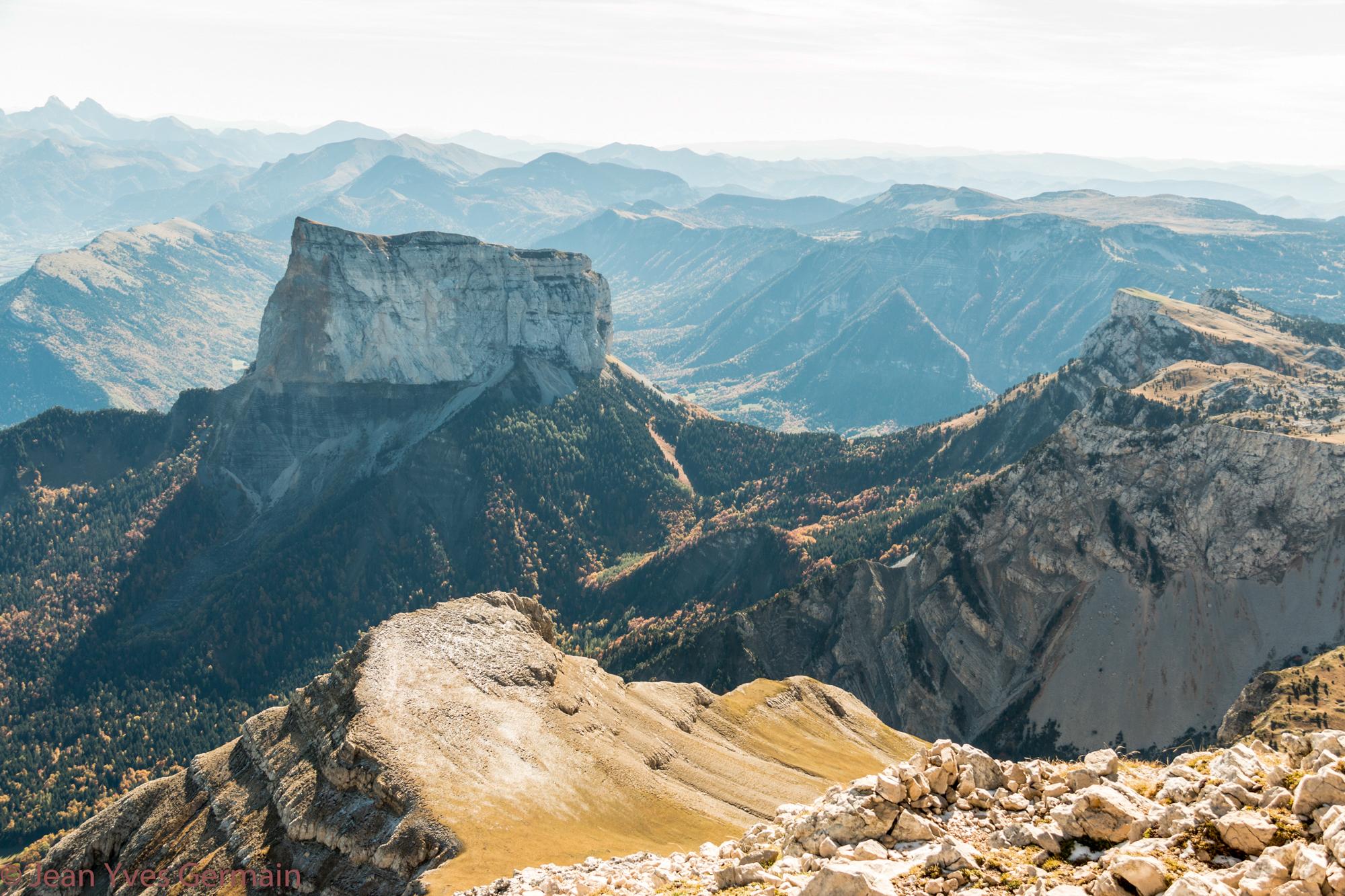 Mont Aiguille vu du Grand Veymont-6309