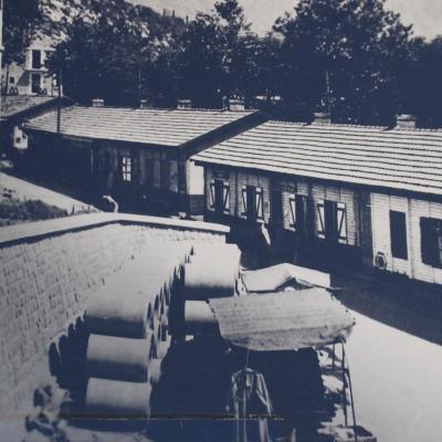 La Chapelle en Vercors Les baraquements d'après guerre