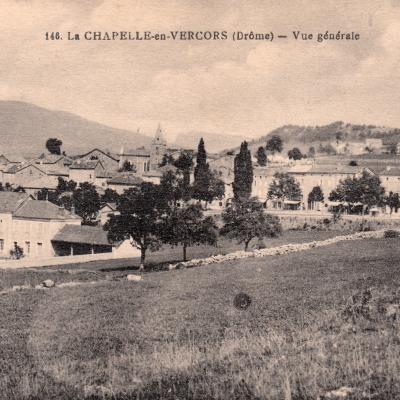 La Chapelle en Vercors vue générale
