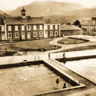 La Chapelle en Vercors La piscine
