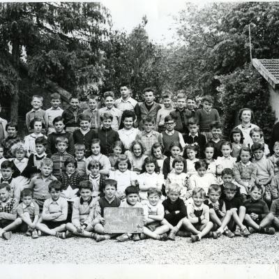 La Chapelle en Vercors Ecole Année 1953