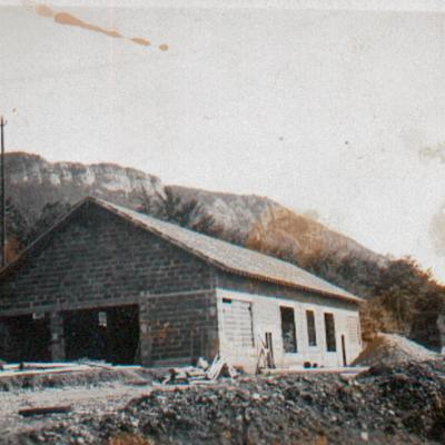 La Chapelle en Vercors Construction