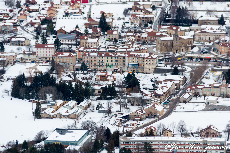 La Chapellle en Vercors sous la neige