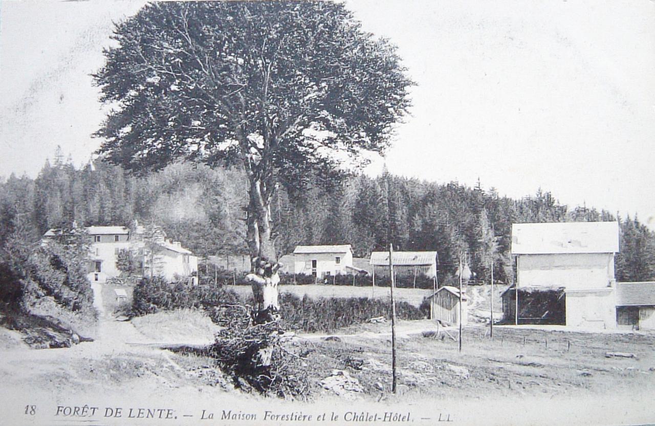 Lente La maison forestière et le Chalet Hôtel
