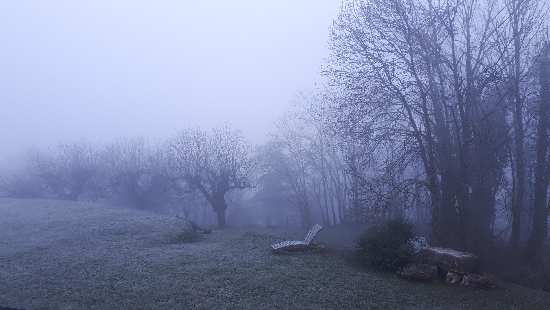 Brume matinale à La Baume d'Hostun