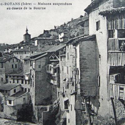Pont en Royans Les maisons suspendues