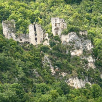 Rochechinard Les ruines du château