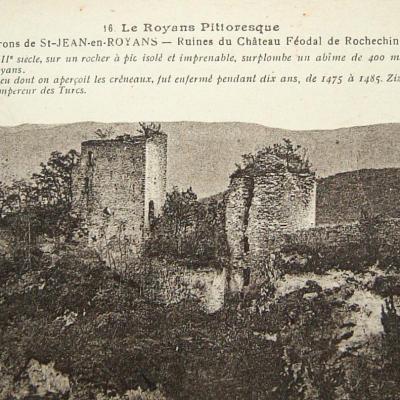 Rochechinard Ruines du château féodal