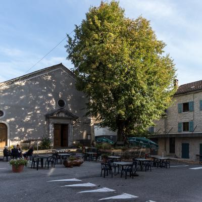 Saint Martin en Vercors Place du Tilleul