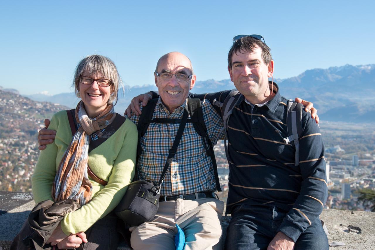 Dominique, Jean Luc et Gilles