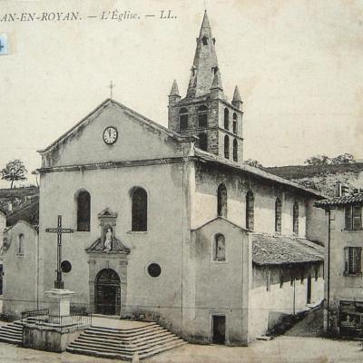 Saint Jean en Royans l'église