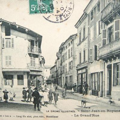 Saint Jean en Royans La grand'rue
