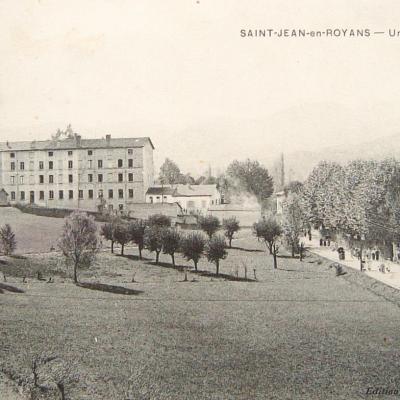Saint Jean en Royans une usine de tissage