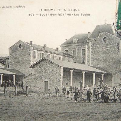 Saint Jean en Royans les écoles