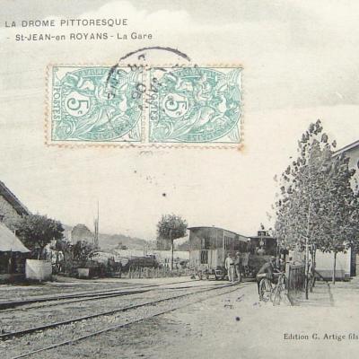 Saint Jean en Royans la Gare