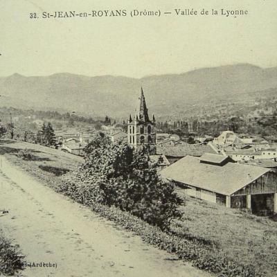 Saint Jean en Royans Vallée de la Lyonne