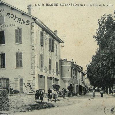 Saint Jean en Royans Entrée de la ville