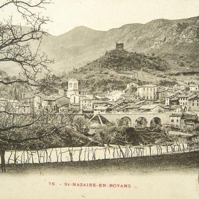 Saint Nazaire en Royans Vue générale
