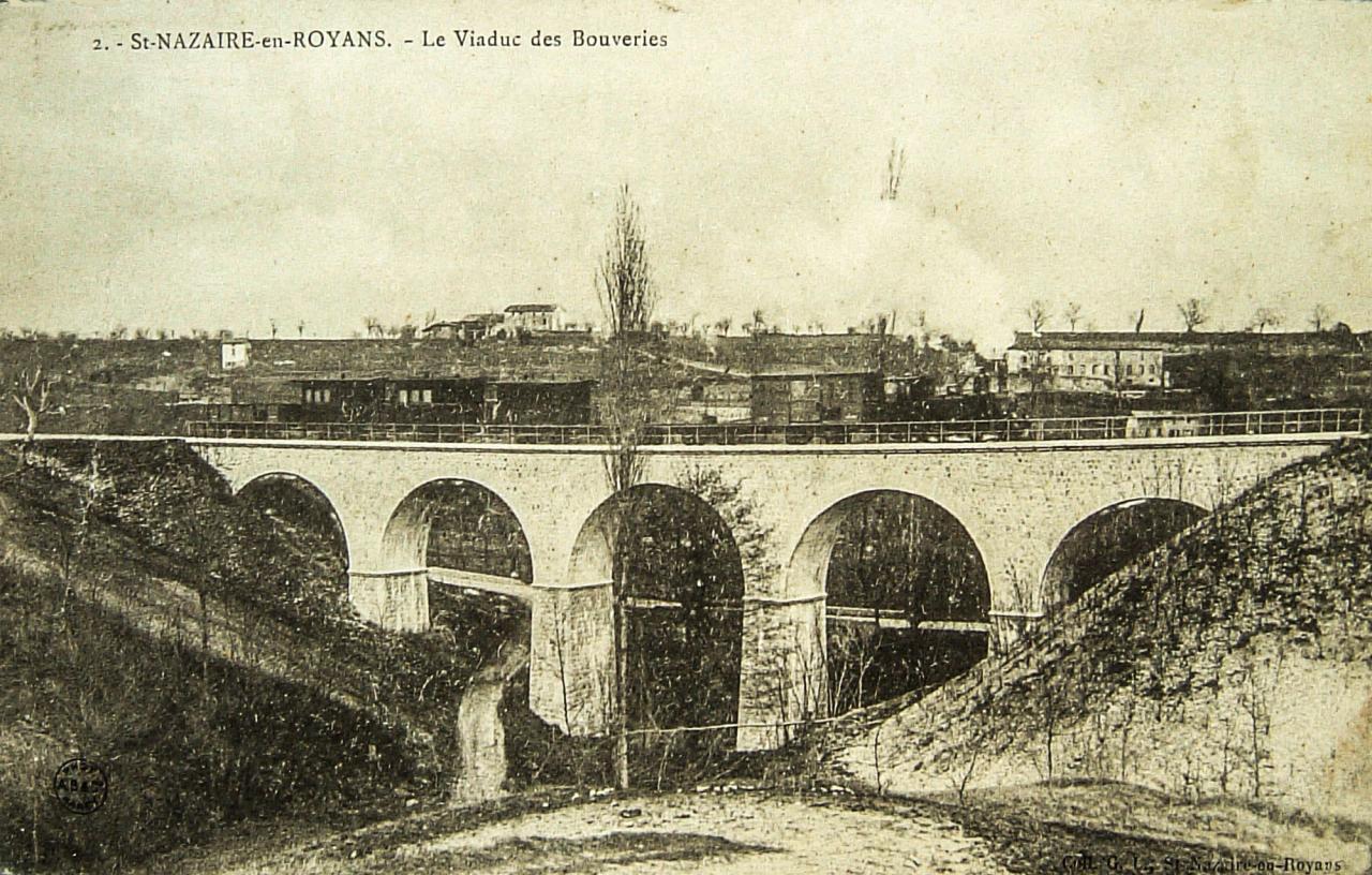 Saint Nazaire en Royans Le viaduc des bouveries