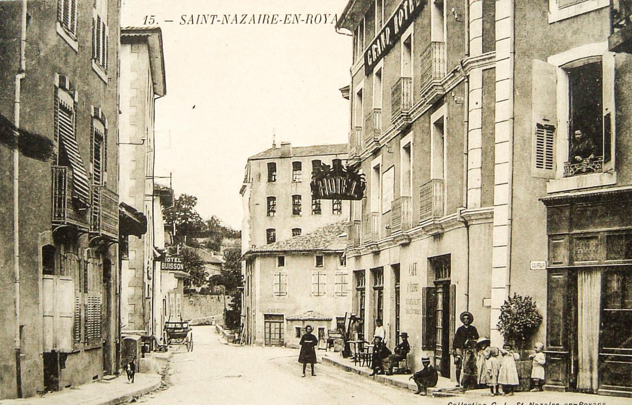 Saint Nazaire en Royans les hôtels