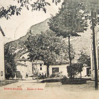 Sainte Eulalie en Royans Eglise et école