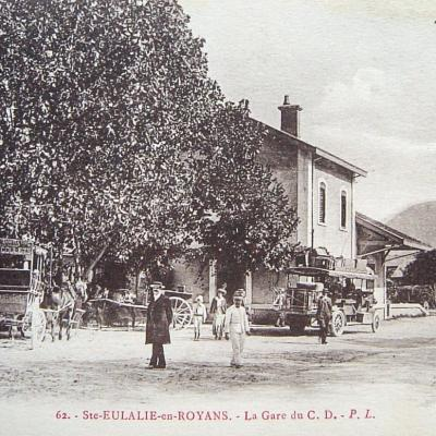 Sainte Eulalie en Royans la Gare