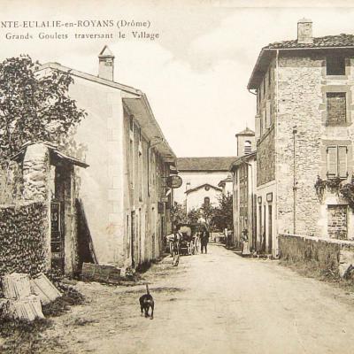 Sainte Eulalie en Royans Route des grands Goulets