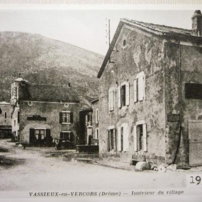 Intérieur du village de Vassieux en Vercors
