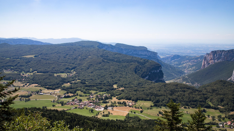 Vue sur Saint Julien en Vercors-2