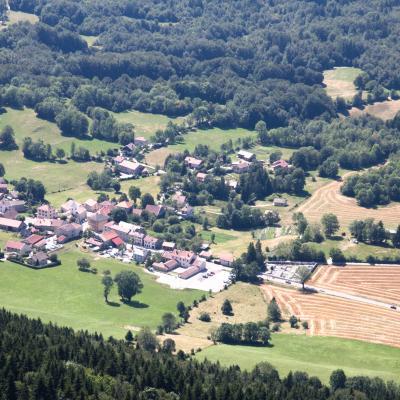 Vue sur Saint Julien en Vercors-3